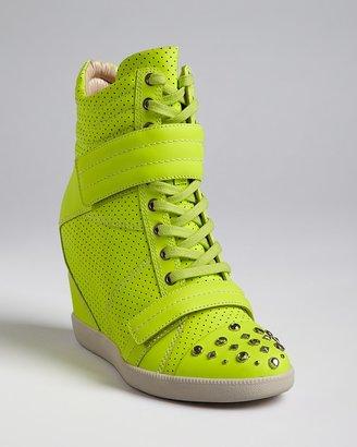 Boutique 9 High Top Wedge Sneakers - Nevan