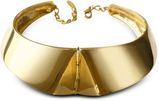Giuseppe Zanotti Golden Brass Choker Necklace