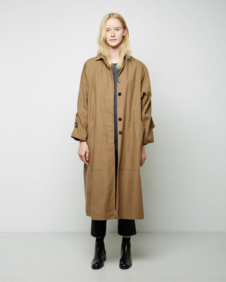 Moderne Drafting Trench Coat $995 thestylecure.com