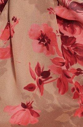 St. John Bouquet Print Silk Georgette Scarf