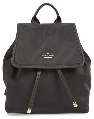 Kate Spade New York 'molly' Nylon Backpack $228 thestylecure.com