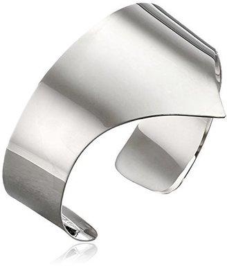 "Giuseppe Zanotti Silver-Finish Cuff Bracelet, 8.5"""