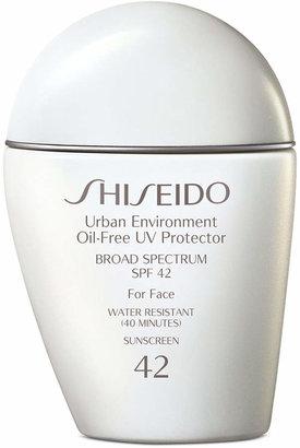 Shiseido Urban Environment Oil-Free Uv Protector Spf 42, 1 oz