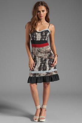 Patterson J. Kincaid PJK Animal Mix Mala Dress