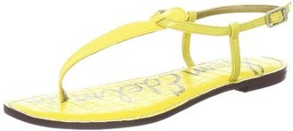 Sam Edelman Women's Gigi Thong Sandal,Citron Yellow/Citron Yellow,8 M US