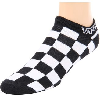 Vans Checker Kick (1-Pair Pack) (Black) - Footwear