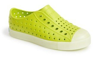 Infant Native Shoes Jefferson - Glow In The Dark Sneaker $37 thestylecure.com