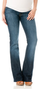 A Pea in the Pod 7 For All Mankind Petite Secret Fit Belly. Stretch Fabric Boot Cut Maternity Jeans