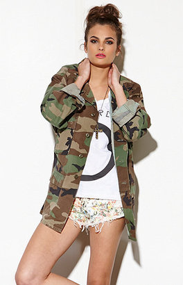 Camo The Gold Republic Military Jacket