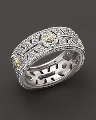 "Judith Ripka Estate"" Ring With White Sapphires"