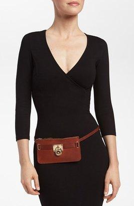 MICHAEL Michael Kors Leather Belt Bag