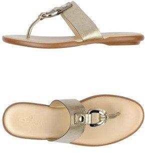 Hogan Toe strap sandal