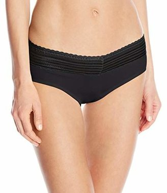 Warner's Women's No Pinches No Problem Cotton Lace Hipster Panty $11.50 thestylecure.com