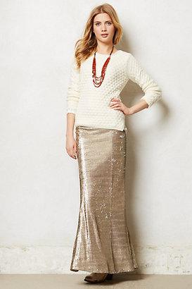 Anthropologie Sirene Sequin Skirt