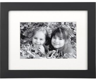 Crate & Barrel Classic Black 4x6 Frame