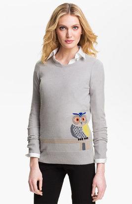 Christopher Fischer Owl Intarsia Cashmere Sweater