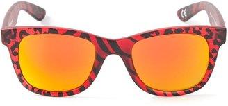 Italia Independent Leopard Print Sunglasses