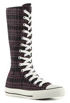Converse Girls Toddler & Youth High-Top Plaid Boot Sneaker