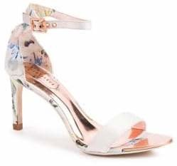 Ted Baker Ulaniip Floral High-Heel Sandals