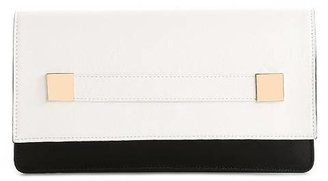 Melie Bianco Shayla Color Block Flap Clutch