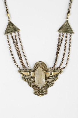 Urban Outfitters Spell & The Gypsy Collective Dark Side Of The Moon Necklace