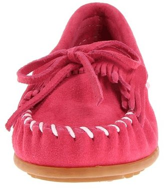 Minnetonka Kids - Kilty Suede Moc Kids Shoes