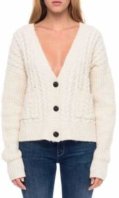 Line Abby Cable Knit Cardigan