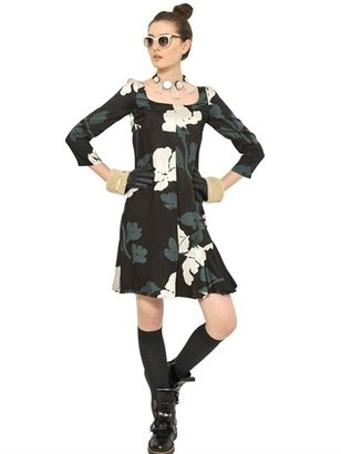 Marni Printed Viscose Twill Dress