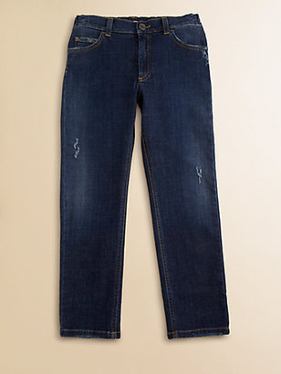 Dolce & Gabbana Boy's Straight-Leg Jeans