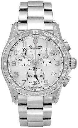 Victorinox Watch, Women's Chronograph Stainless Steel Bracelet 41mm 249002