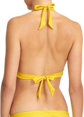 Athleta Shirrendipity Halter Bikini Top