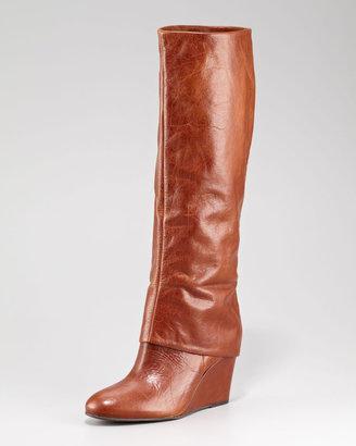 Steven Studded Knee Boot