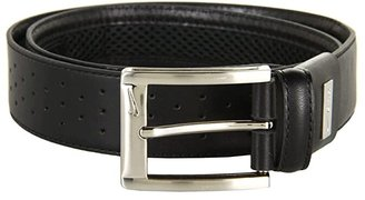 Nike Tiger Woods Perf Mesh II (Black) Men's Belts