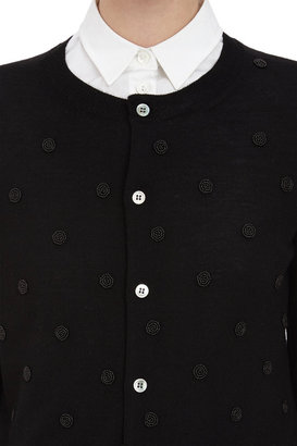 Comme des Garcons Beaded Cardigan