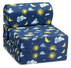 Comfy Kids Moon and Stars Flip Chair