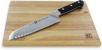 Zwilling J.A. Henckels Pro 7-Inch Santoku Knife and Cutting Board Set