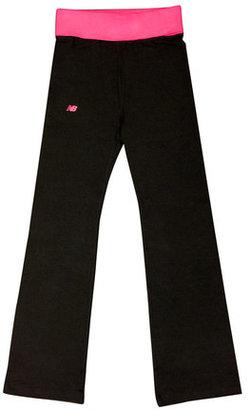 New Balance Lounge Pant Pink Black