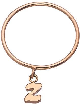 Ariel Gordon 14k Mini Alphabet or Number Charm Ring