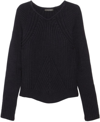 Calvin Klein Collection Efthalia ribbed wool sweater