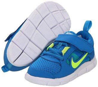 Nike Free Run 3 (Infant/Toddler) (Photo Blue/Volt) - Footwear