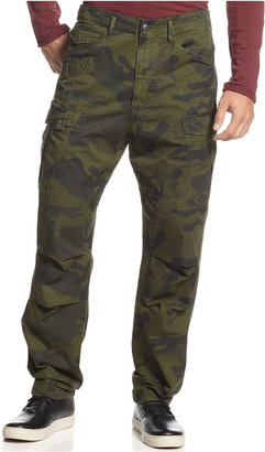 G Star G-Star Pants, Rovic Tapered Camouflage Print Cargo