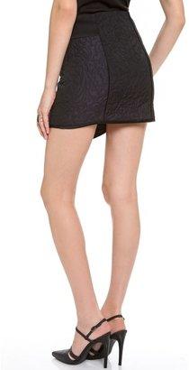 Tibi Paneled Quilted Skirt