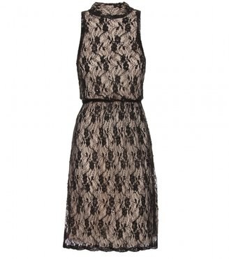 Alice + Olivia BAILEY BEADED LACE DRESS