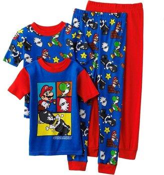Nintendo madness 4-pc. pajama set - boys 4-12