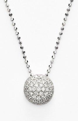 Bony Levy Eclipse Pave Diamond Pendant Necklace