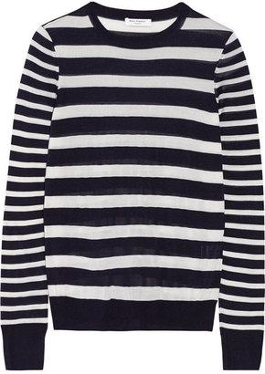 Equipment Shane striped silk sweater