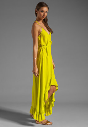 Karina Grimaldi Romantic Solid Maxi Dress