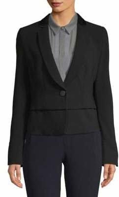 Emporio Armani Layered Single-Button Blazer