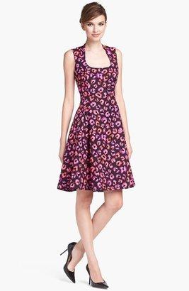 Kate Spade 'kimi' Cotton & Silk A-Line Dress