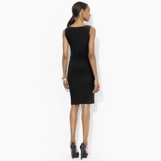 Ralph Lauren Embellished V-Neck Dress